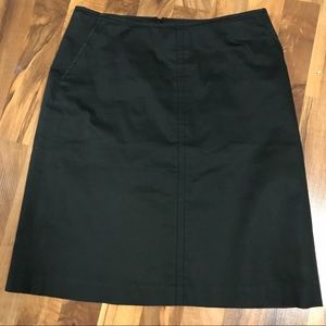 Banana Republic Black Skirt Sz 2